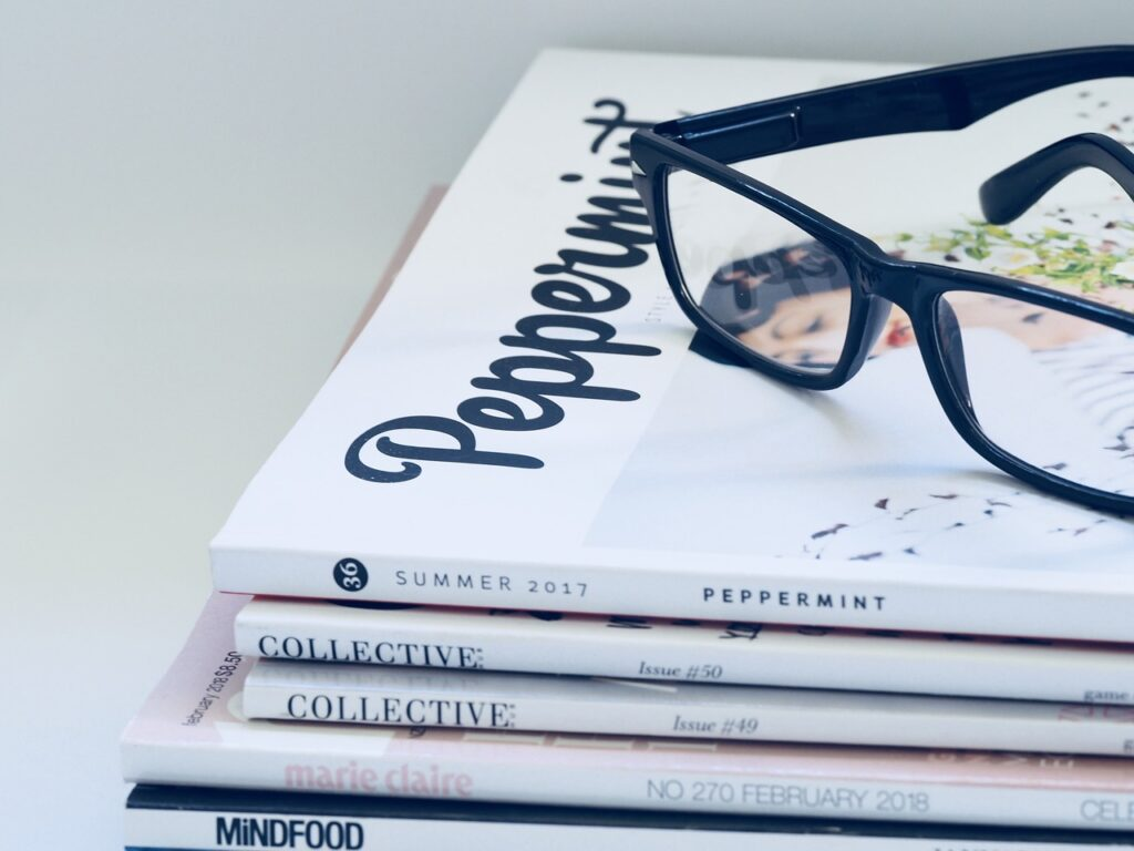 home styling - newspapers and magazines